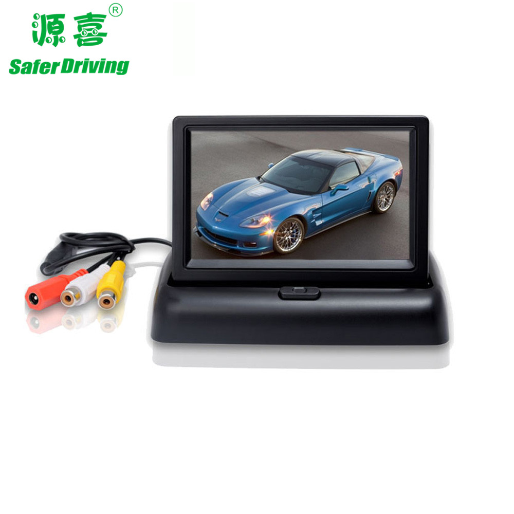 4.3 inch car LCD monitor,foldable monitor    XY-2064 - copy