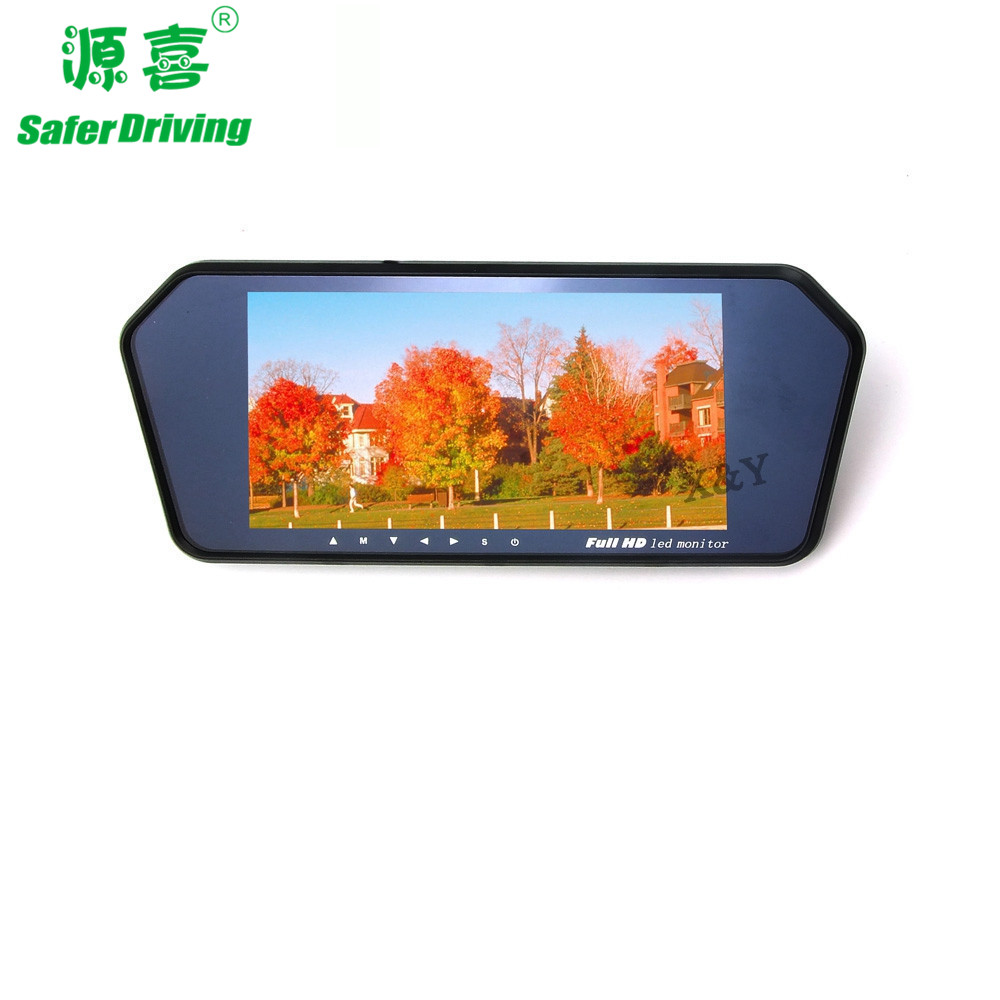 7 inch car mirror MP5+Bluetooth monitor   XY-2058MP5+BT